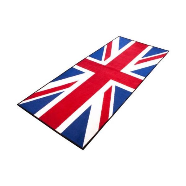 Tapis moto de paddock environnemental Triumph UK flag