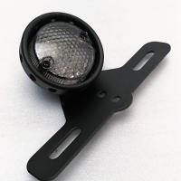 Feu vintage arrière LED + stop + support de plaque
