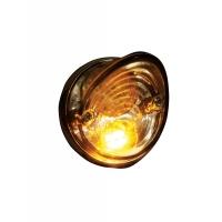 Paire Feux Ronds Arrière LED + Stop + clignotants