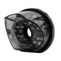 Feux design ronds arrière LED + stop fumé noir