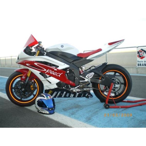 Kit poly carénage complet piste Yamaha R6 2006 2007