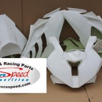 Kit poly carénage complet piste BMW S1000RR 2012 2014
