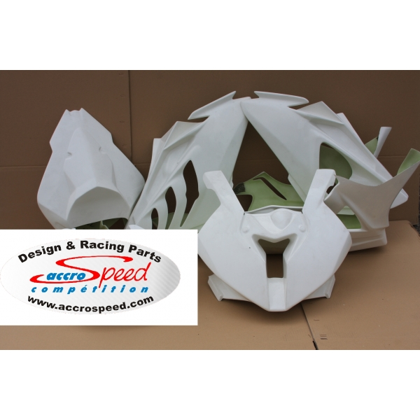 Kit poly carénage complet piste BMW S1000RR 2012 2014