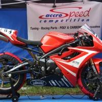 Kit poly carénage complet piste Triumph 675 2013 2016