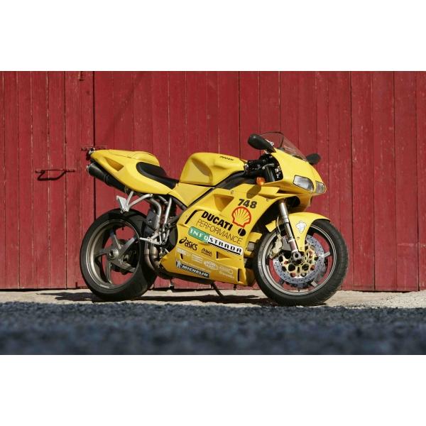 Kit poly carénage complet Ducati 748 916 996 998 optique ouvert