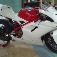 Kit poly carénage racing complet Ducati 1198 1098 848