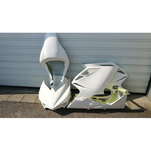 Kit poly carénage racing complet MV Agusta F4RR 1000 2010 2014