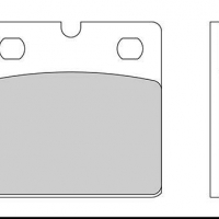 FD013 G1054 Plaquette de frein Galfer Bmw Indian Guzzi