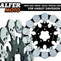 Disque de frein Galfer Skull Harley davidson Sportster Glide Softail street electra...