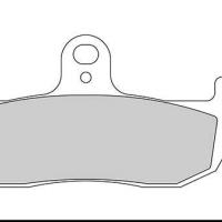 FD089 G1054TT Plaquette de frein Galfer Husqvarna