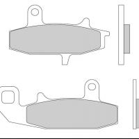 FD101 G1054 Plaquette de frein Galfer Suzuki DR 650 800