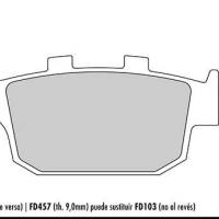 FD103 G1054 G1371 Plaquette de frein arrière Galfer Buell Triumph Honda