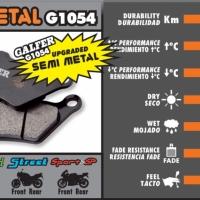 FD109 G1054 Plaquette de frein Galfer GSX 600 F
