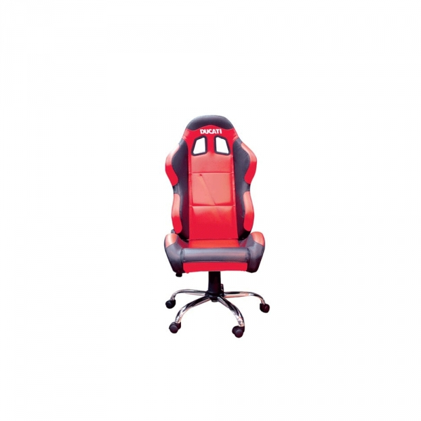 Fauteuil de bureau baquet Ducati rouge
