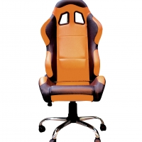 Fauteuil de bureau baquet Orange