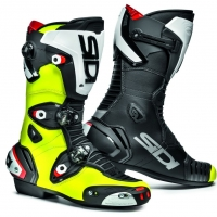 Bottes racing SIDI MAG1 jaune fluo noir