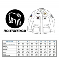 Blouson cuir Holyfreedom Quatro Black