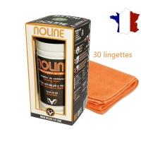 Flacon 30 Lingettes + Microfibre NOLINE Nettoyant