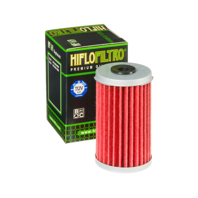Filtre à huile HIFLOFILTRO - HF169 Daelim