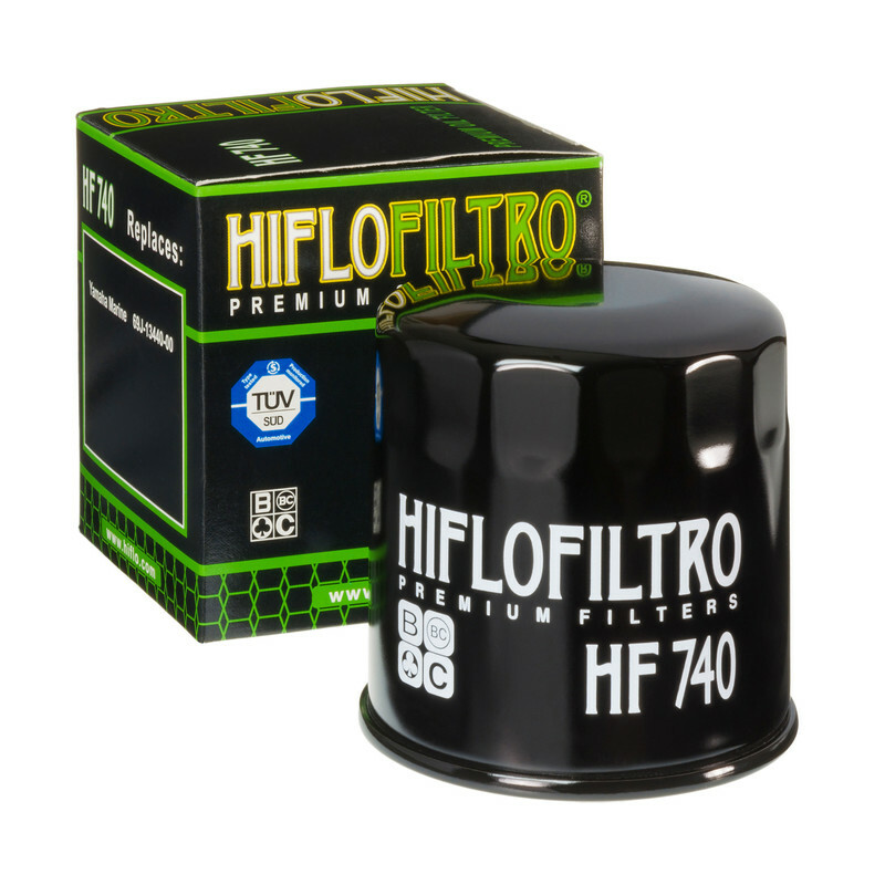 Filtre à huile HIFLOFILTRO - HF740 Yamaha