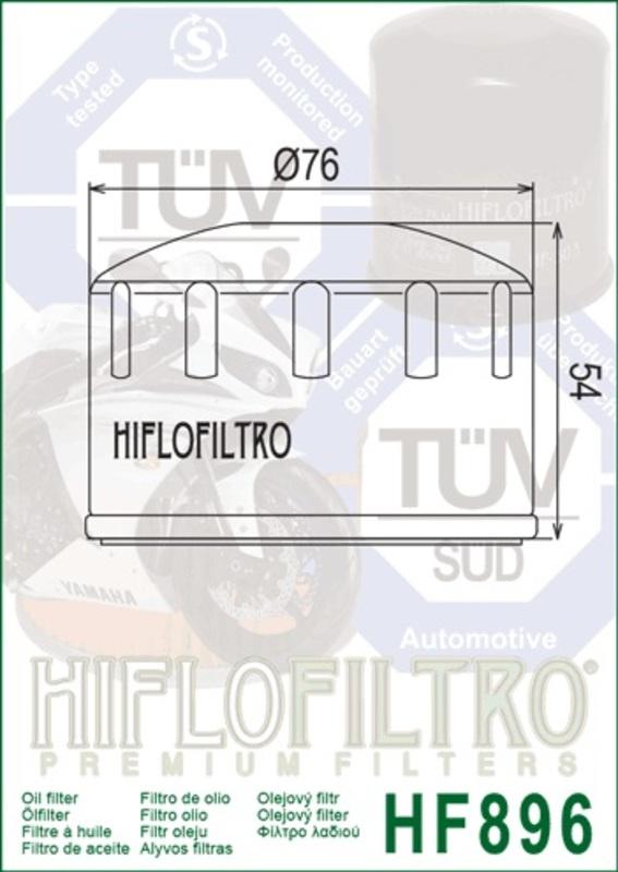 Filtre à air HIFLOFILTRO - HF896Ural 750