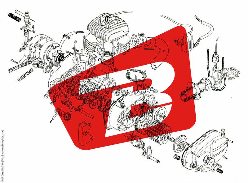 Pièce SAV STM Rondelle d'appui de ressort spécifique Ducati