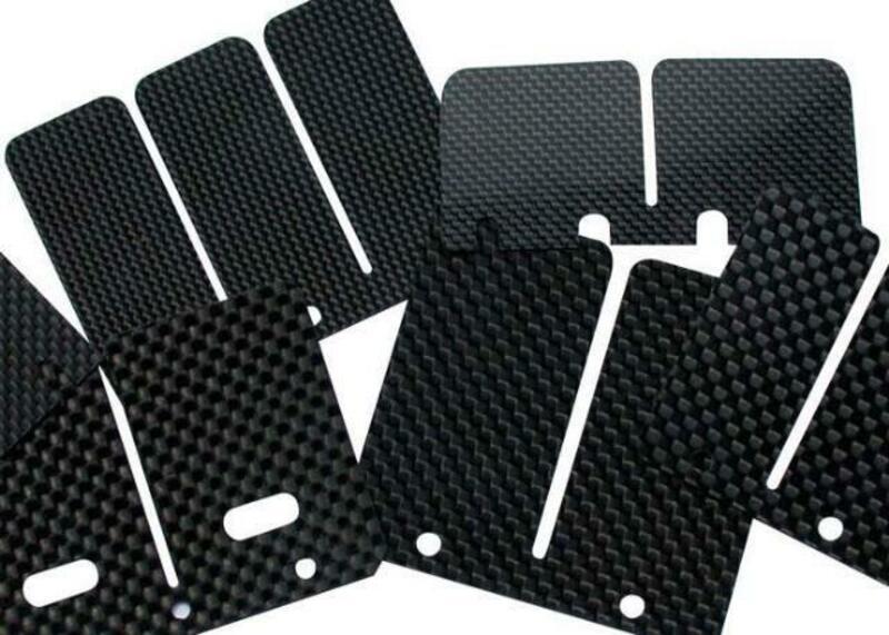 Boite à clapets TECNIUM Carbon fiber