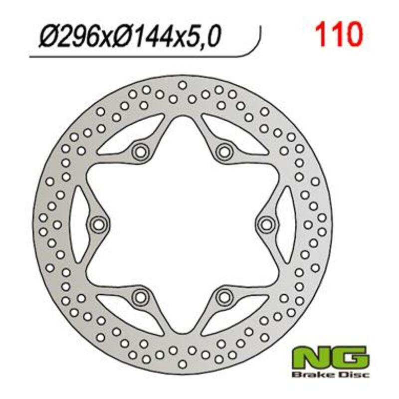 Disque de frein NG BRAKE DISC fixe - 110