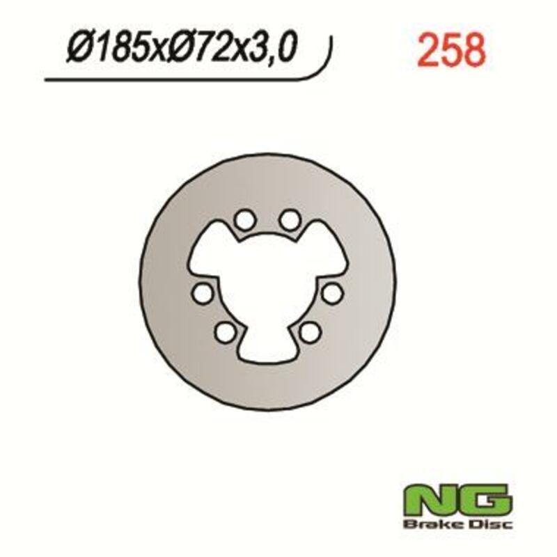 Disque de frein NG BRAKE DISC fixe - 258