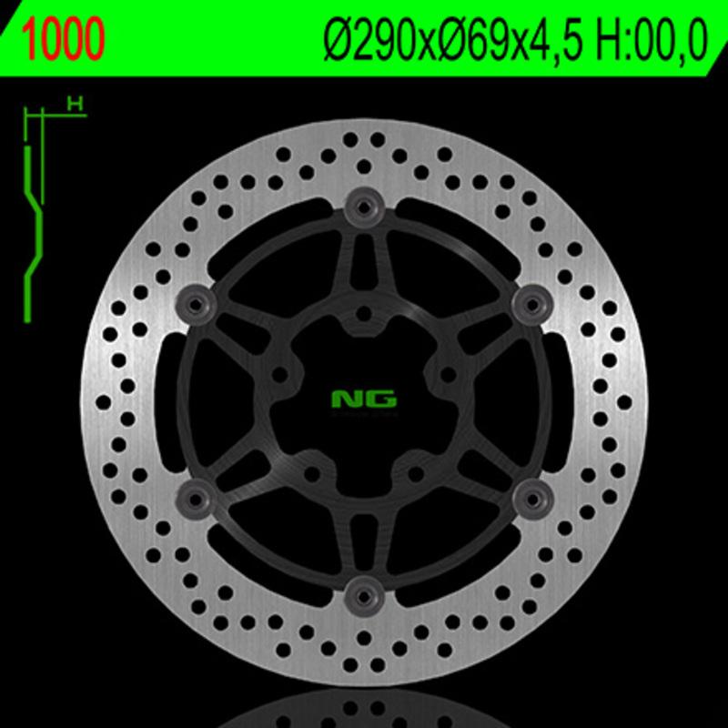 Disque de frein NG BRAKE DISC Flottant - 1000
