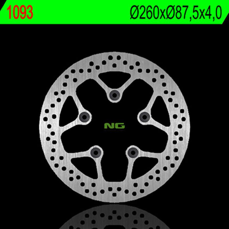Disque de frein NG BRAKE DISC fixe - 1093