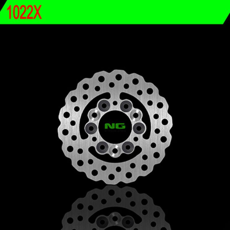 Disque de frein NG BRAKE DISC Pétale fixe - 1022X