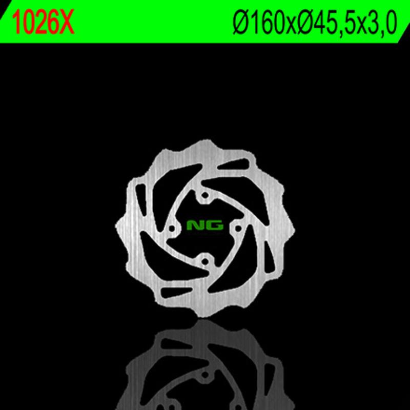 Disque de frein NG BRAKE DISC Pétale fixe - 1026X