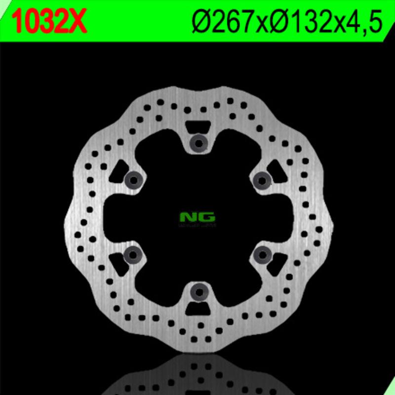 Disque de frein NG BRAKE DISC Pétale fixe - 1032X
