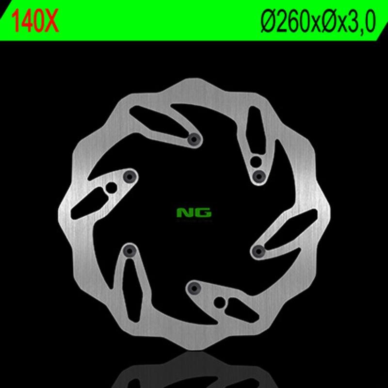 Disque de frein NG BRAKE DISC Pétale fixe - 140X
