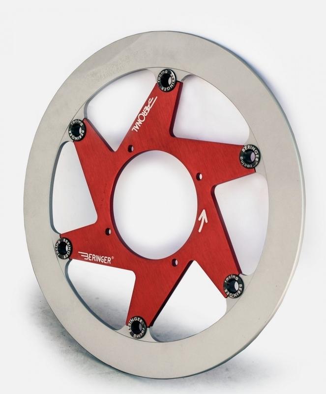 Disque de frein BERINGER Aeronal fonte flottant - H9LGRF