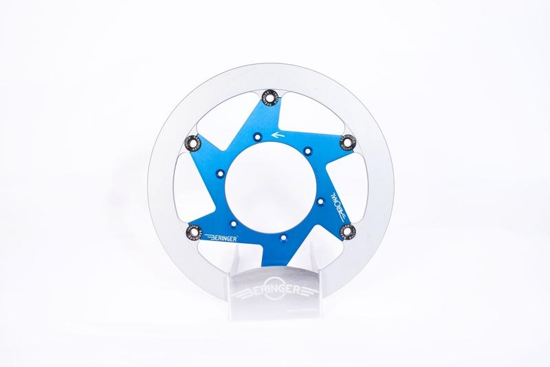 Disque de frein BERINGER Aeronal fonte flottant bleu - S10LGBLF
