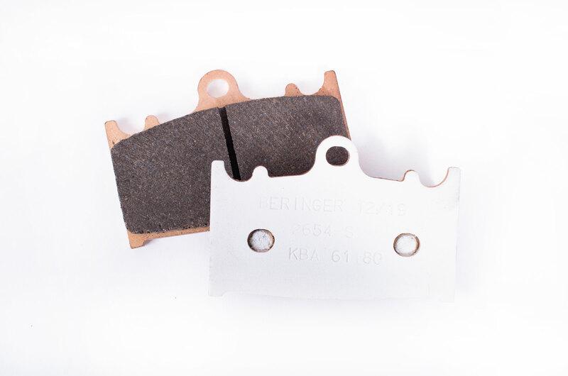 Plaquettes de frein BERINGER route métal fritté - KIT2654S