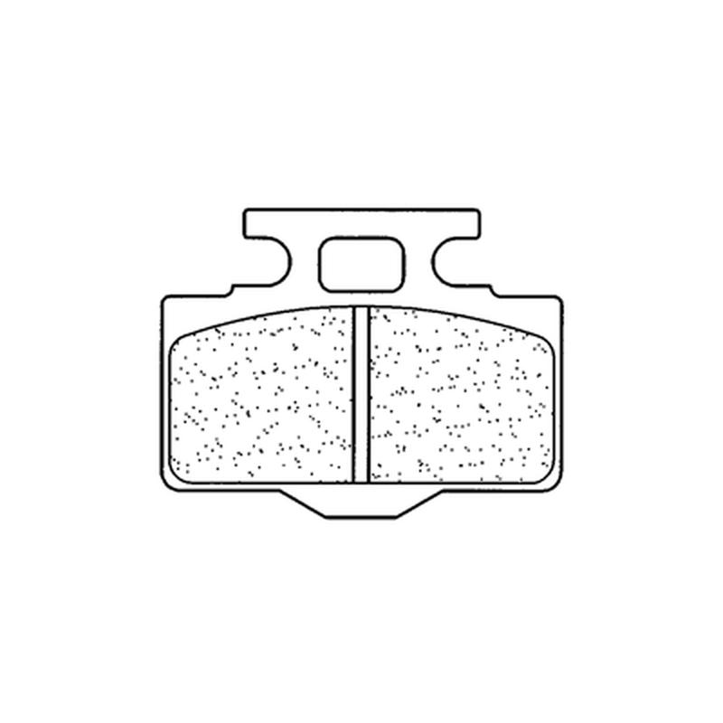 Plaquettes de frein CL BRAKES Off-Road métal fritté - 1034MX10