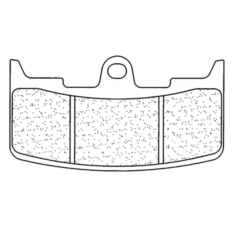 Plaquettes de frein CL BRAKES route métal fritté - 1139XBK5
