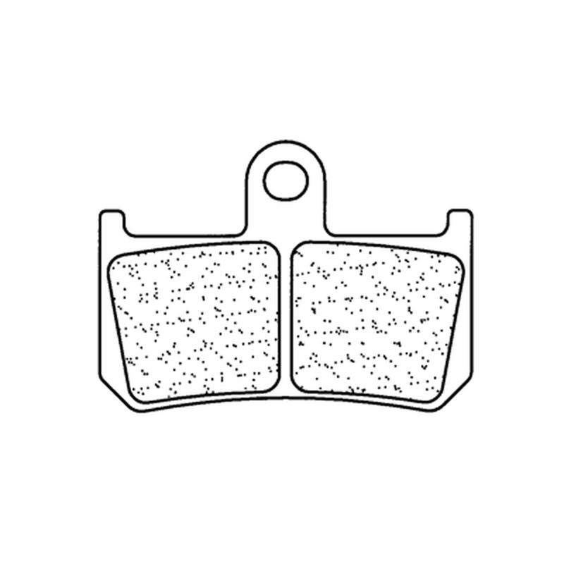 Plaquettes de frein CL BRAKES route métal fritté - 1180XBK5