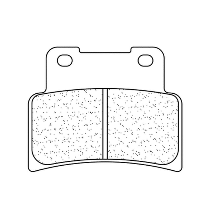 Plaquettes de frein CL BRAKES route métal fritté - 1187XBK5