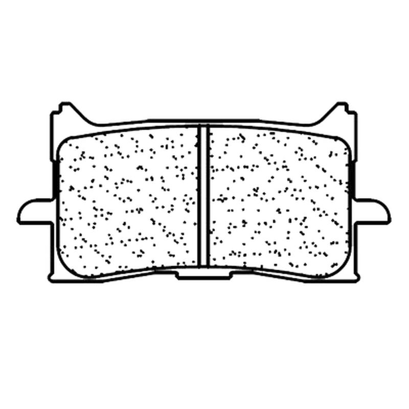 Plaquettes de frein CL BRAKES route métal fritté - 1245A3+