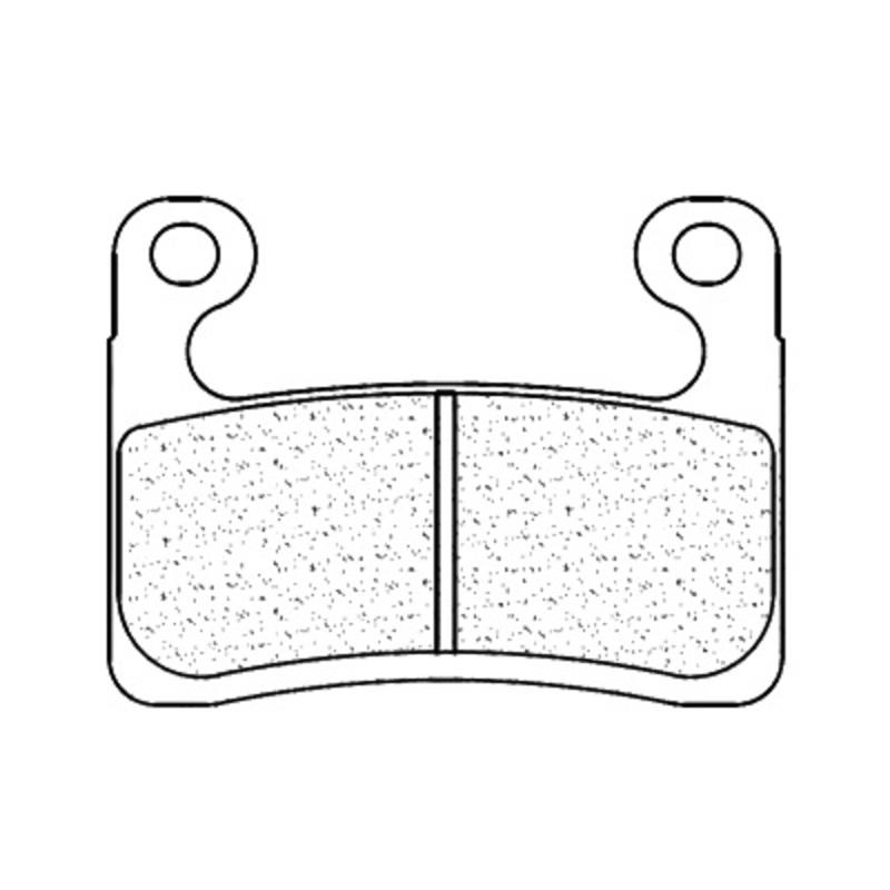 Plaquettes de frein CL BRAKES route métal fritté - 1257XBK5