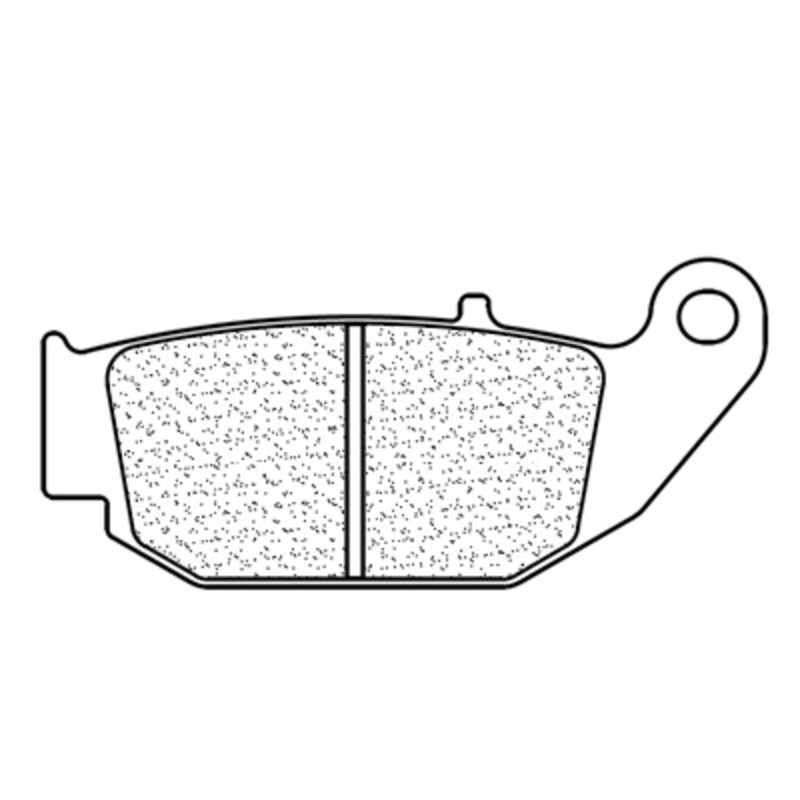 Plaquettes de frein CL BRAKES Racing métal fritté - 1259RX3