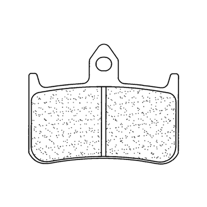 Plaquettes de frein CL BRAKES route métal fritté - 2245S4