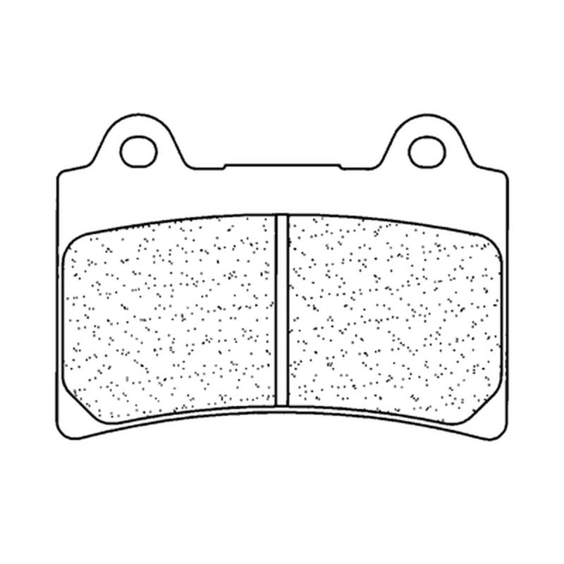 Plaquettes de frein CL BRAKES route métal fritté - 2305S4