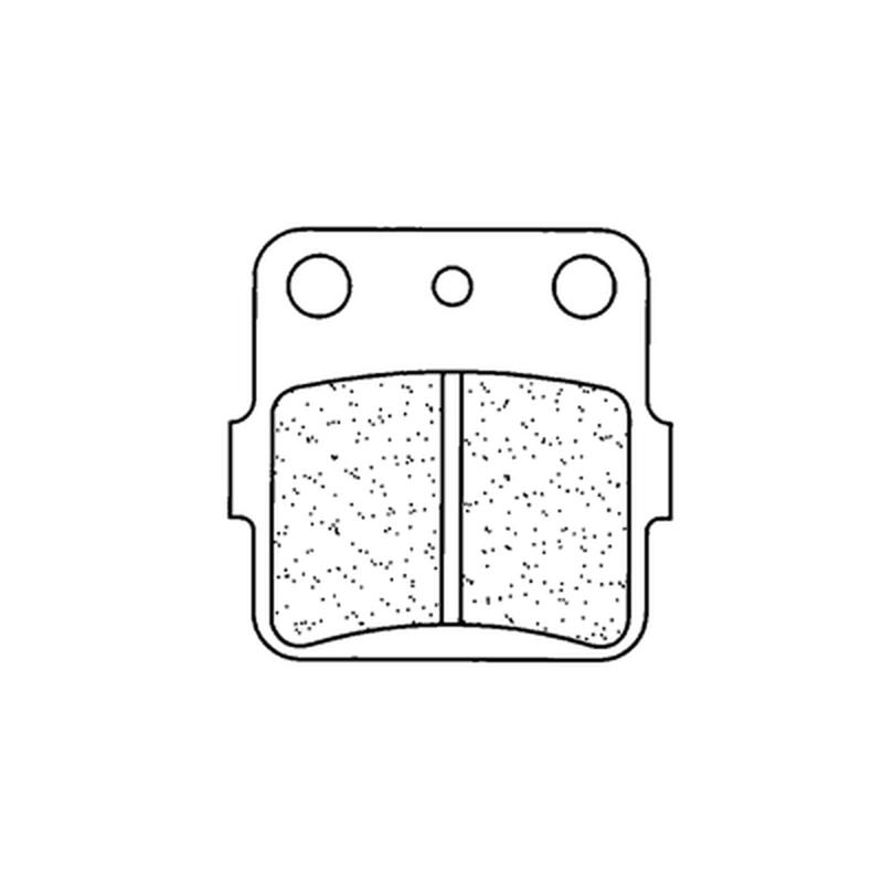 Plaquettes de frein CL BRAKES Quad métal fritté - 2328ATV1