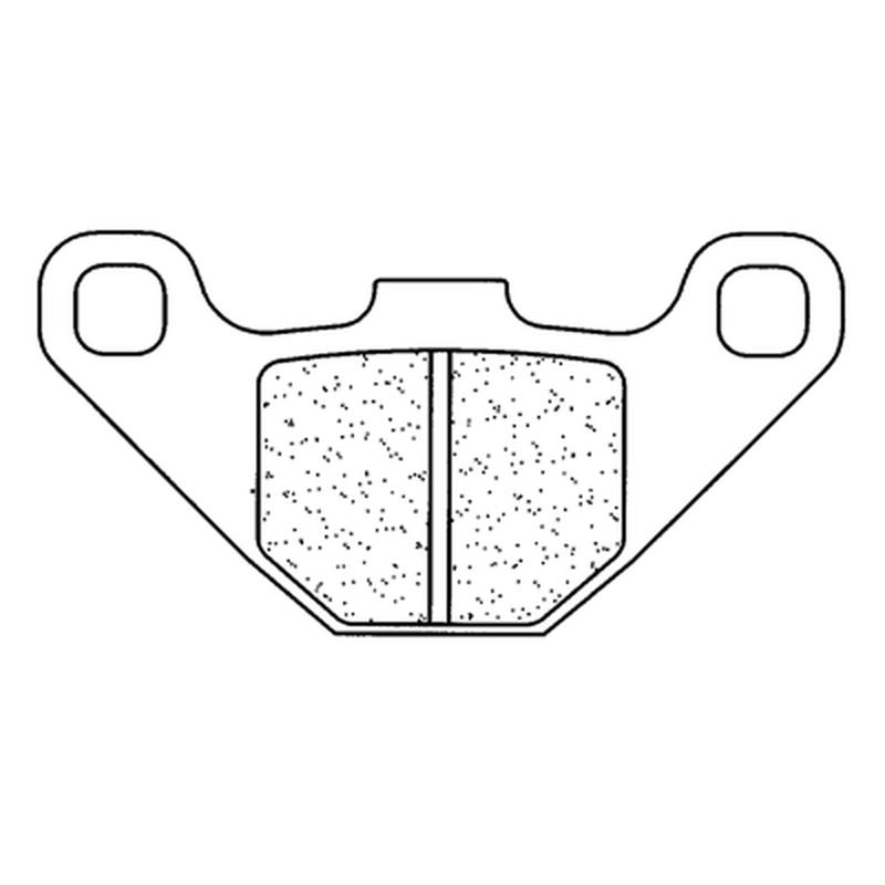 Plaquettes de frein CL BRAKES route métal fritté - 2469S4