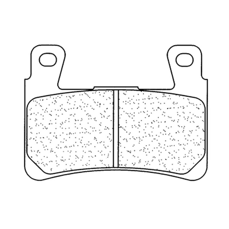 Plaquettes de frein CL BRAKES route métal fritté - 2711A3+